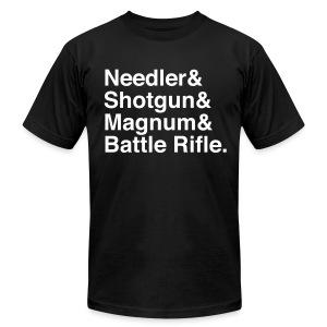 Halo Weapons - Men's Fine Jersey T-Shirt