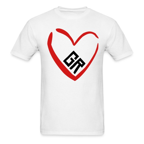 gr heart - Men's T-Shirt
