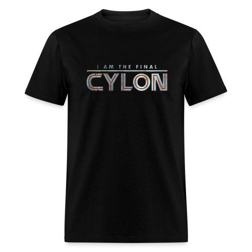 I AM THE FINAL CYLON T-SHIRT (STD. WEIGHT) - Men's T-Shirt