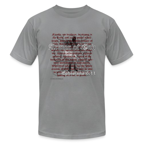 Armor of God - Men's Fine Jersey T-Shirt