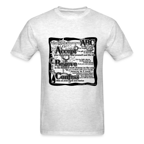Salvation ABC - Men's T-Shirt