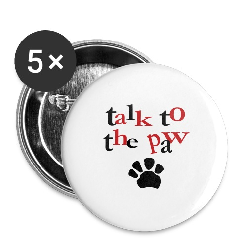 Talk to the paw buttons - Large Buttons