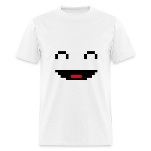 Pixel Smile Male - Men's T-Shirt