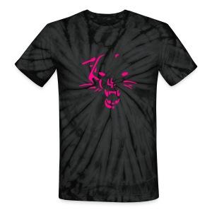 Wild cat tie dye - Unisex Tie Dye T-Shirt