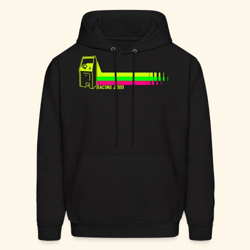 Racing2000 (neon) - Men's Hoodie