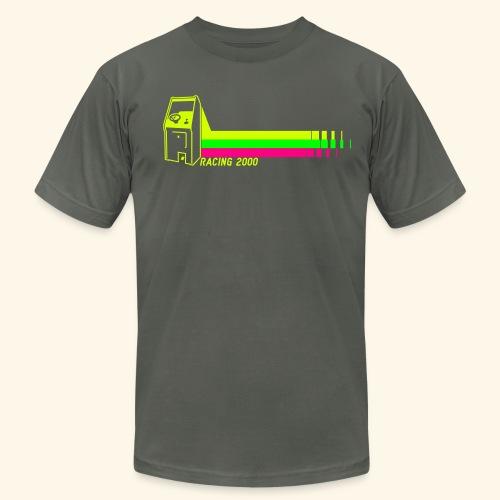 Racing2000 (neon) - Men's Fine Jersey T-Shirt