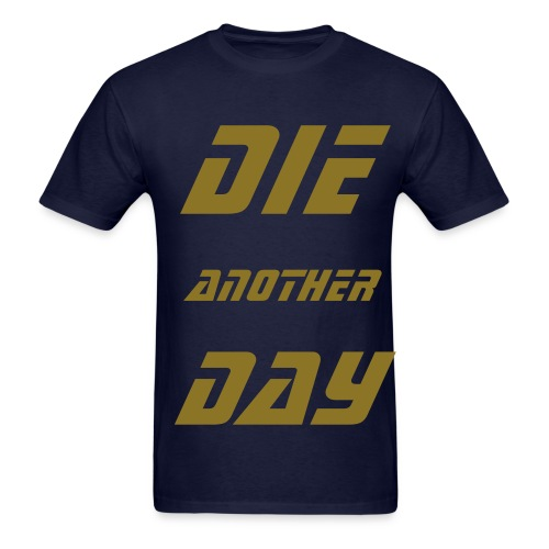 DAD SHIRT 1 NAVY - Men's T-Shirt