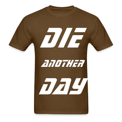DAD SHIRT 1 BROWN - Men's T-Shirt
