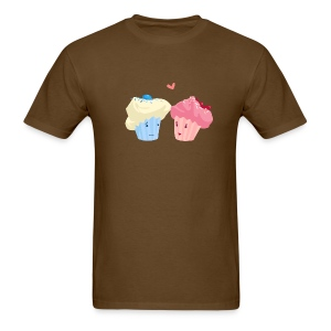 Cupcakes in Love - Men's T-Shirt