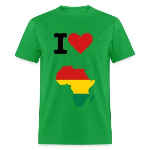 I Heart Africa - Men's T-Shirt