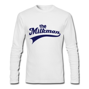 The Milkman Longsleeve - Men's Long Sleeve T-Shirt by Next Level