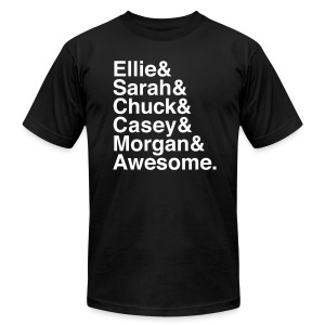 Chuck - Men's T-Shirt by American Apparel