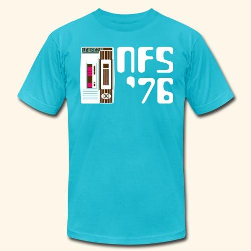NFS '76 (neon) - Men's Fine Jersey T-Shirt