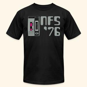 NFS '76 (silver/neon) - Men's Fine Jersey T-Shirt