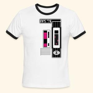 NFS '76 (neon) - Men's Ringer T-Shirt