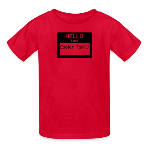 Hello My Name Is... - Kids' T-Shirt