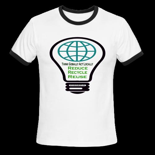 Reduce, recycle, reuse - Men's Ringer T-Shirt