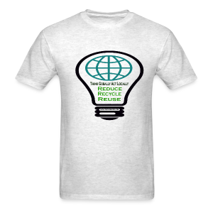 Reduce, recycle, reuse - Men's T-Shirt
