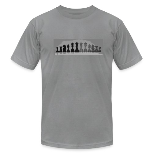 Chess pieces - Men's Fine Jersey T-Shirt