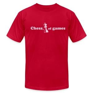 Chess, (king) of games - Men's Fine Jersey T-Shirt
