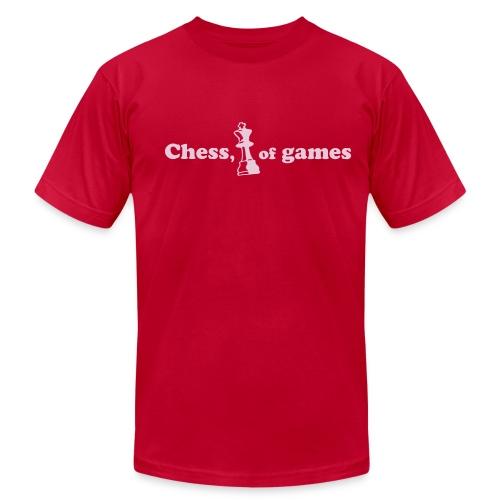 Chess, (king) of games - Men's  Jersey T-Shirt