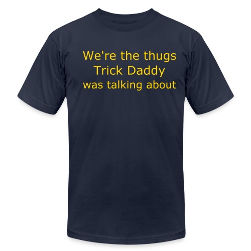 Men's Fine Jersey T-Shirt - Real Mellow Anthonies know how to get down on tha flo