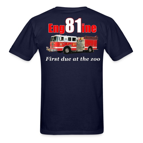 Engine 81 - Men's T-Shirt