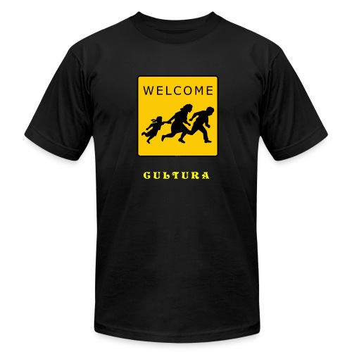 Welcome - Men's Fine Jersey T-Shirt