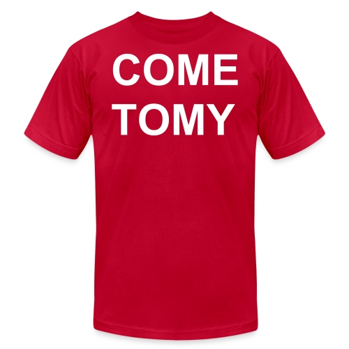 COMTOMYBLOCPARTY - Men's Fine Jersey T-Shirt
