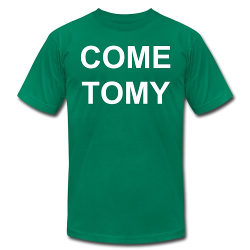 COMTOMYBLOCPARTY 2.0 - Men's Fine Jersey T-Shirt