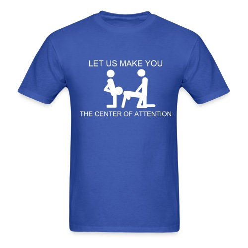 CENTER OF ATTENTION TEE - Men's T-Shirt