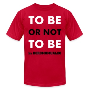 Be male red - Men's Fine Jersey T-Shirt
