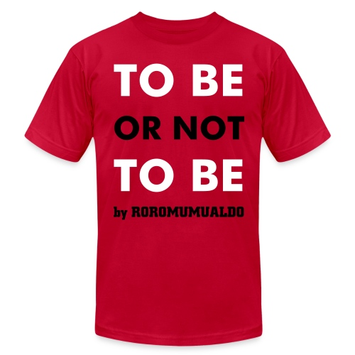 Be male red - Men's  Jersey T-Shirt