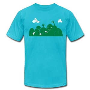 Monster Road - Men's T-Shirt by American Apparel