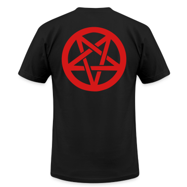 Black pentagram T-Shirts