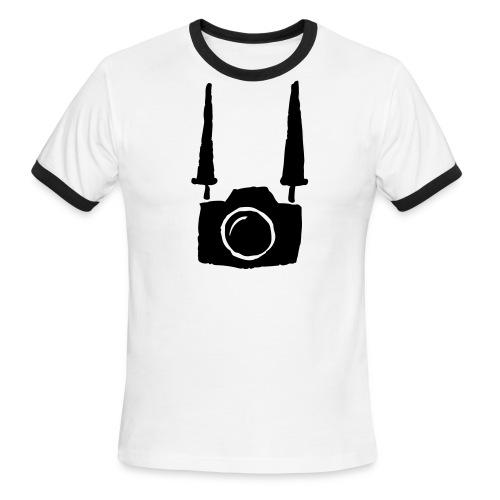 Wannabe Photographer Tee - Men's Ringer T-Shirt