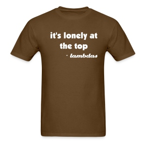 Lambdas Lonely first latino fraternity Shirt - Men's T-Shirt