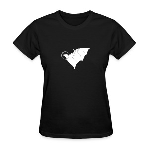 Space Bat Helmet Ladies Tee (Dark) - Women's T-Shirt