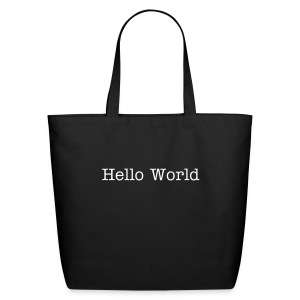 Hello World - Eco-Friendly Cotton Tote