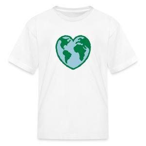 Kids Love Earth Tee - Kids' T-Shirt