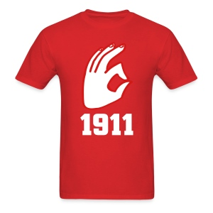 KAPSi Shirt Handsign1911 - Men's T-Shirt