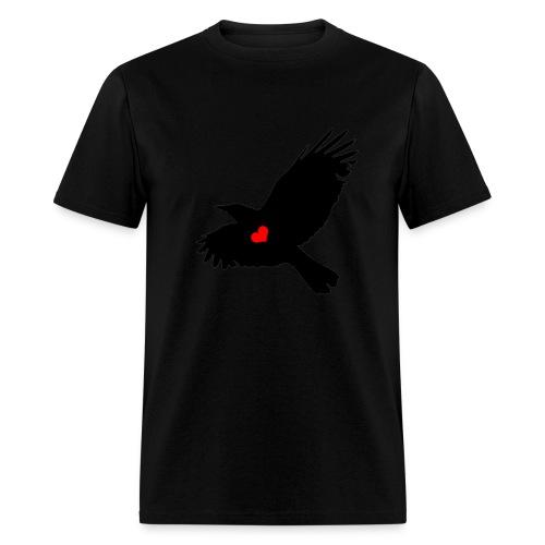 Crow Love - Men's T-Shirt