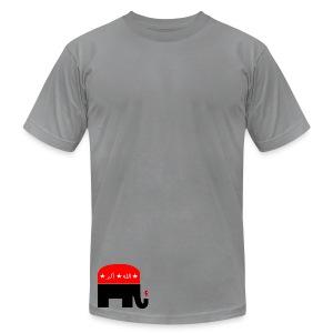 Republican Logo Deconstruction - Men's Fine Jersey T-Shirt