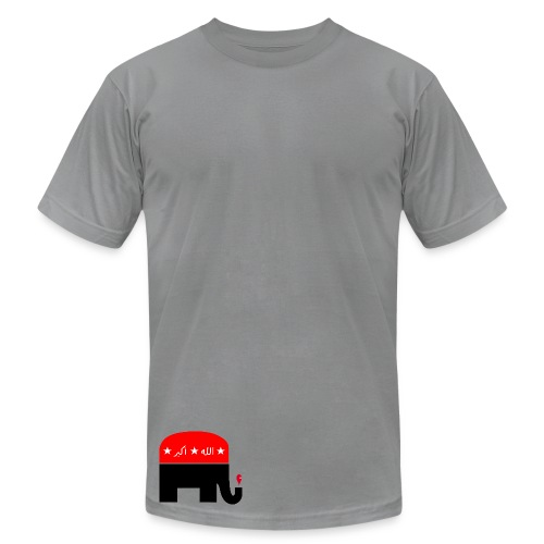 Republican Logo Deconstruction - Men's Fine Jersey T-Shirt