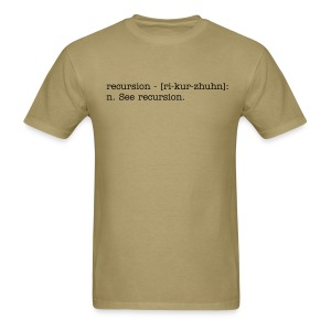 Recursion - Definition - Men's T-Shirt
