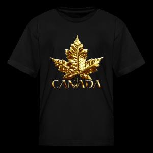 Kid's Canada Souvenir T-shirt Cool Maple Leaf Kids T-shirt - Kids' T-Shirt
