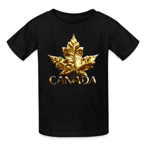 Kid's Canada Souvenir T-shirt Cool Maple Leaf Kids T-shirt - Kids' T-Shirt