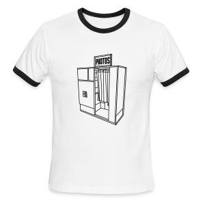 Photobooth.net Men's Ringer T-Shirt - Men's Ringer T-Shirt
