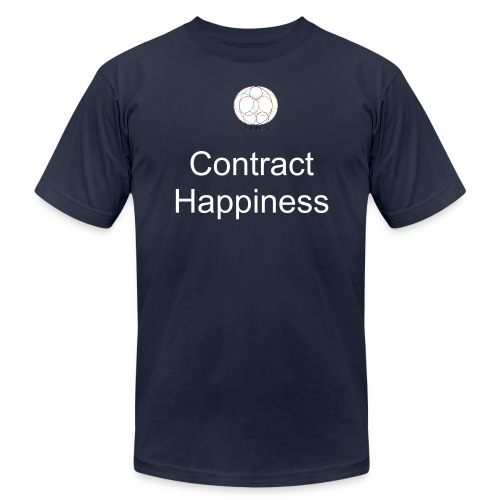 Contract Happiness - Men's Fine Jersey T-Shirt