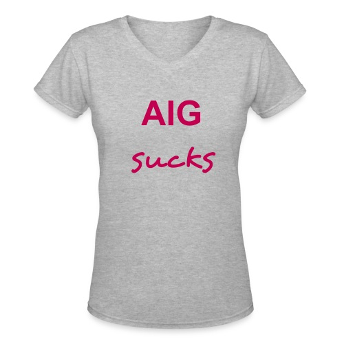 AIG - Women - Women's V-Neck T-Shirt